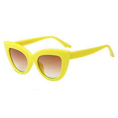 Conducción Viaje de Gafas para Hombre Diseñador Mujer Aire Vintage Libre Yellow Al Fiesta Sol Gafas de Zhhlinyuan Style4 xwqYCnS