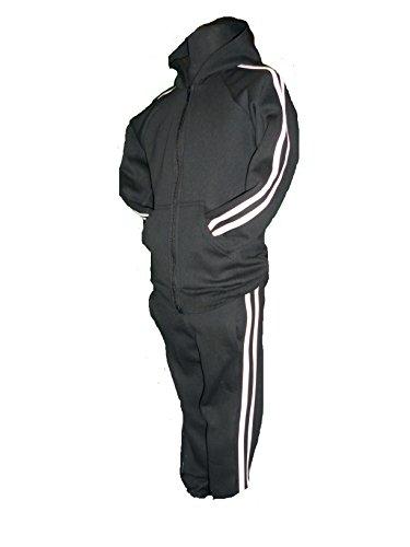Jogging Et À Capuche 12year Année nbsp;ans 3 Haut Pour Wear 11 Jogger rayures Multicolore Taille 4 Active Noir Enfant Blanches Avec 8x5qnYZ