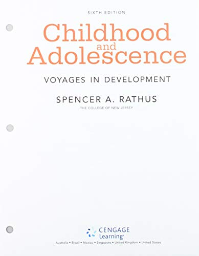 Bundle: Childhood: Voyages in Development, Loose-Leaf Version, 6th + MindTap Psychology, 1 term (6 months) Printed Access Card