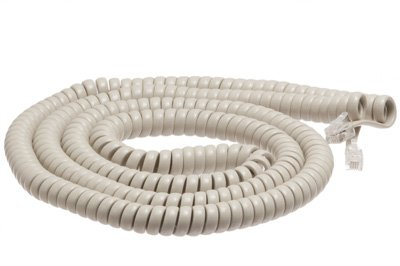 Nortel Meridian M2000 Series 25 Ft Ash Handset Cord - Comes In Factory Sealed Bag