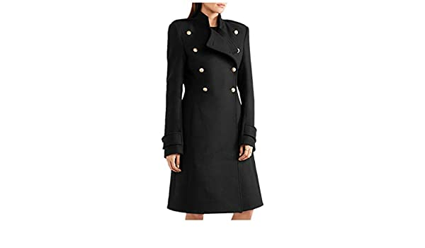 Amazon.com: Women Elegant Slender and Warm Jacket in Autumn and Winter in Europe and America: Clothing