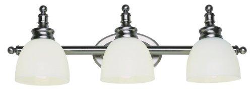 "Moen Yb9863orb Waterhill Three Globe Bath Light Oil: Trans Globe Lighting 34143 AN Indoor Kovacs 27"" Vanity Bar"