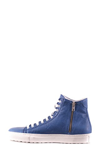 DSQUARED2 Men's MCBI107219O Blue Leather Hi Top Sneakers high quality online outlet for cheap for sale online o2DSd
