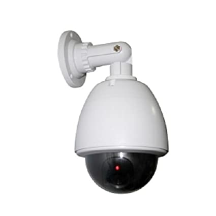 Cámara Dome Dummy LED Vigilancia Falsa Alarma Camera