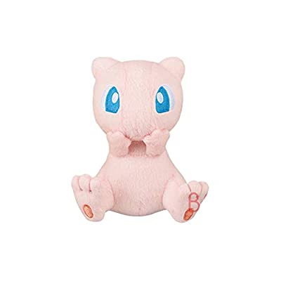 "Pokemon Mewtwo Strikes Back Evolution Movie Ver. Mew 5"" Character Plush Toy Soft Stuffed Doll Collection Anime Art: Toys & Games"