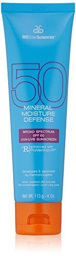 MDSolarSciences Mineral Moisture Defense SPF 50 Sunscreen, 4 Oz