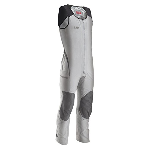 SLAM Man Technical Collection Men's 155gr NYLON TASLON Force 2 Long John Wetsuit Col.160 Mesh and taffetà lining Light grey Long John Wetsuit - Good Wetsuits