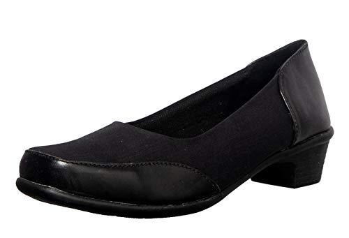 Khadim's Women Black Formal Ballerina Shoe