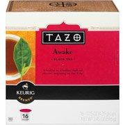 Starbucks Tazo K-Cup Awake Tea, 16ct(Case of 2)