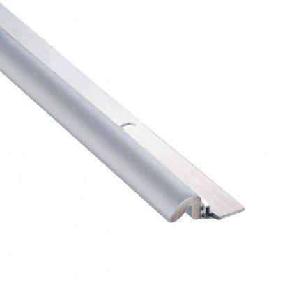 Bulk Aluminum Weatherstrip Gray 80'' Sides, 36'' Top: AM Conservation KC600G (25 Aluminum Weatherstripping Top & Sides) by AM Conservation