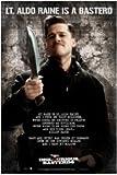 Movies Posters: Inglourious Basterds - Lt. Aldo Raine Speech Poster - 61x91.5cm