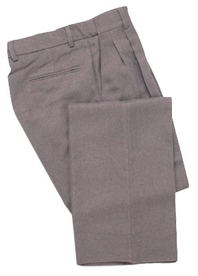 Adams USA Smitty Expanded Waist Pleated Baseball Umpire Plate Pants (Heather Gray, 38-Inch)