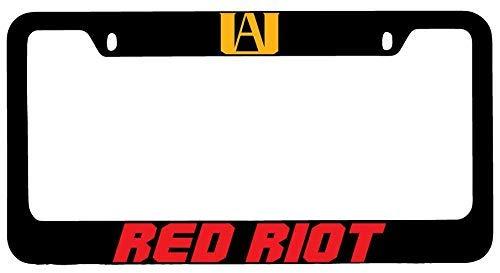 Mark Reynolds Red Riot Black Metal License Plate