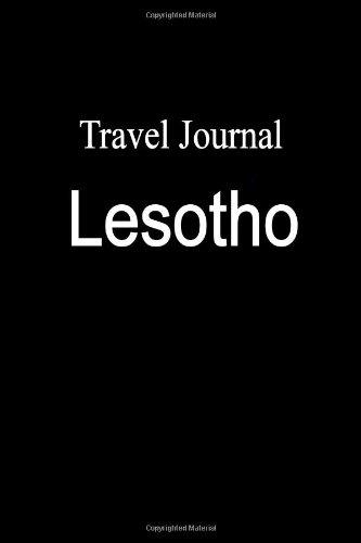 Travel Journal Lesotho