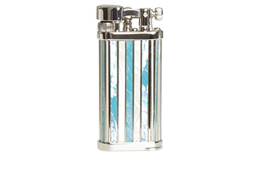 IM Corona Old Boy 2018 LOTY Rhodium Pipe Lighter