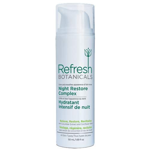 Refresh Botanicals Natural and Organic Age Defying AntiWrinkle Night Restore Complex (Night Cream)