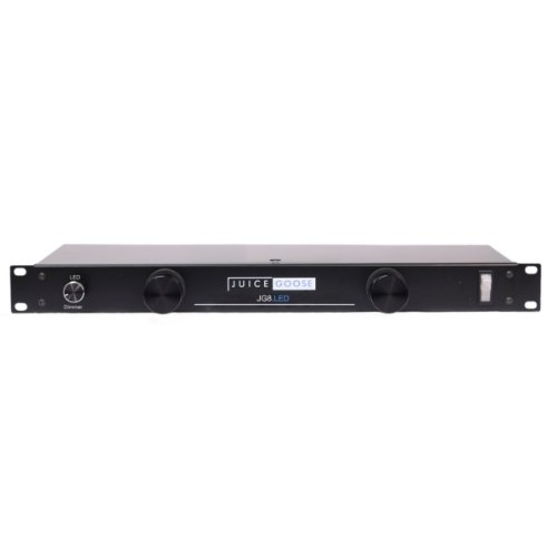 Juice Goose JG 8LED Rack Mount Power Distributor with LED Rack Lights (Power Conditioner Light Module)