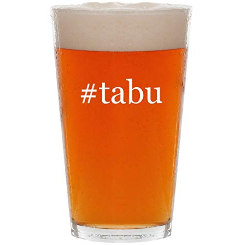 #tabu - 16oz Hashtag All Purpose Pint Beer Glass