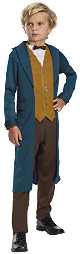 Rubie's Costume Boys Fantastic Beasts & Where To Find Them Newt Scamander Costume, Medium, - Potter Costume Own Harry Your Make