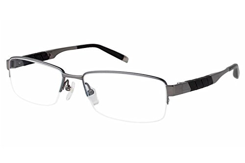 Charmant Z Eyeglasses ZT11794R ZT/11794R GR Gray Half Rim Optical Frame - Z Charmant
