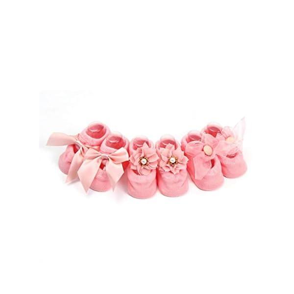 SYGA Infant Anti-Slip Cotton Floor Socks for Girl India
