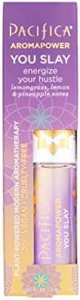Pacifica You slay aromapower roll-on aromatherapy, 0.30 Fl Oz