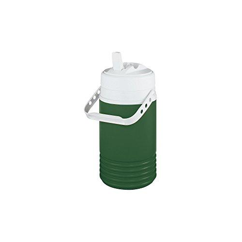 Igloo Legend Beverage Jug, 1/2 Gallon, Green/White