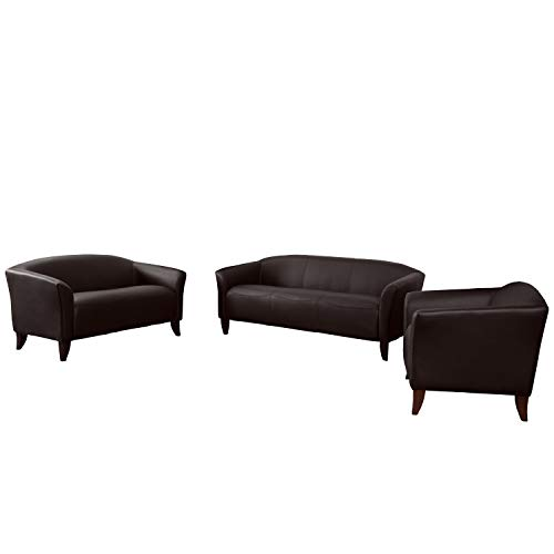 Flash Furniture HERCULES Imperial Series Reception Set in Brown from Flash Furniture