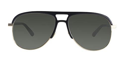 e94e614a774 Gucci Grey Aviator Sunglasses Gg0292S 001 60