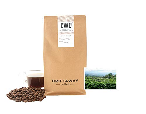 Driftaway Coffee - Fresh Roasted Artisanal Coffee, Medium Roast, Whole Beans, Single Origin, 100% Arabica, Specialty Grade, Gourmet, Roasted in Brooklyn, Perfect for Drip (11 Ounce), Classic ()