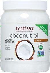 Nutiva Organic Extra Virgin Coconut Oil, 54 Ounce - 1 each. by Nutiva
