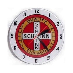 Double Bubble Schwinn Glass Clock