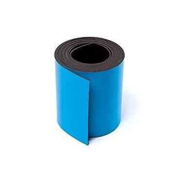 5/x MAGNETBAND Farbe Breite 15/mm f/ür Schneiden und Kennzeichnung Tape Wei/ß