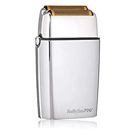 babylisspro barberology cordless metal - 31iQZ2pA7lL - BaBylissPRO Barberology Cordless Metal Double Foil Shaver