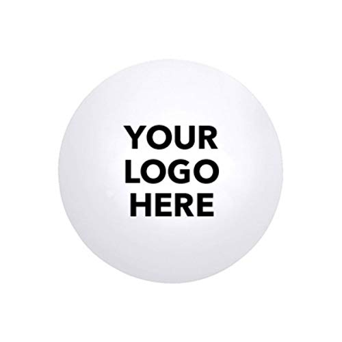 Custom Stress Ball (HiTouch Business Services #4088 Ball Stress Reliever - 50 Qty - $1.30 EA - Promotional Product/Custom/Your Logo/Low Minimums,)