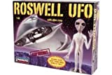 Roswell Ufo Space Ship With Alien Crew Plastic Model Kit