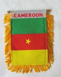 Cameroon - Window Hanging Flag