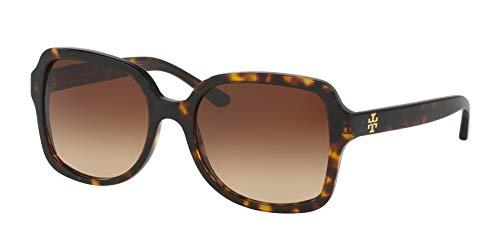 Tory Burch Women's 0TY7102 Khaki/Dark Brown Gradient One Size (Tory Burch Sun Glass Case)