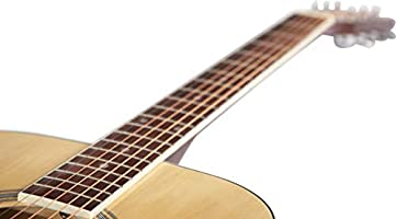 Stretton Payne - Guitarra acústica para zurdos Dreadnought de tamaño completo, con cuerdas de acero, pack D1, natural: Amazon.es: Instrumentos musicales