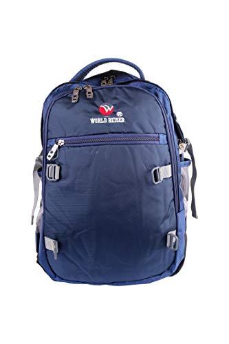 Worldreiser Navy Blue Waterproof Backpack