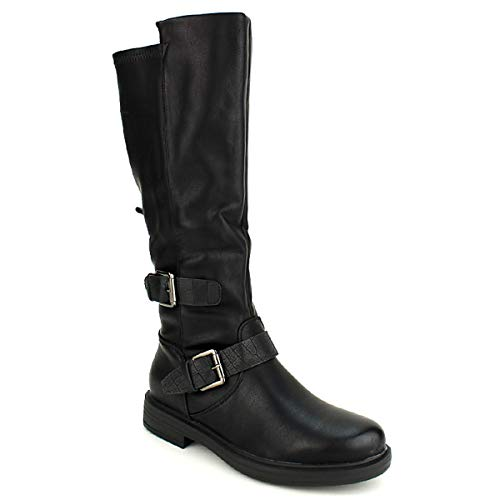 Cendriyon Noires Bottes Femme Chaussures Roots Weide Noir UBx4wUnfrq