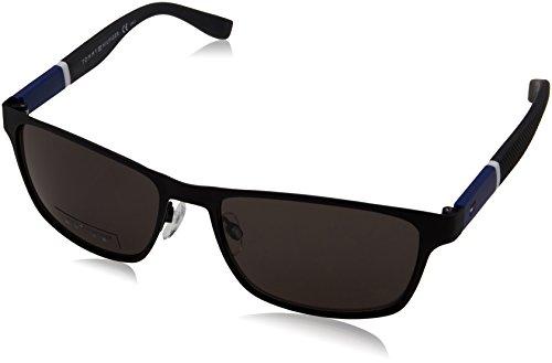 hilfiger Gray s Nr Lens T Black Matte Hilfiger Brown 1283 0fo3 Sunglasses Tommy qP4wtt