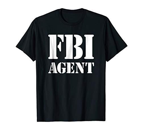 FBI Shirt Halloween Costume]()