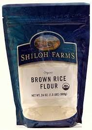 Shiloh Farms: Brown Rice Flour 24 Oz (6 Pack)