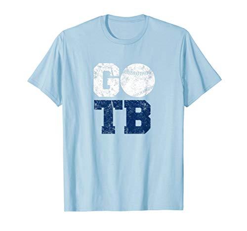 (Vintage TB Tampa Bay Florida Baseball City T-shirt)