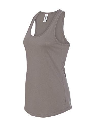 Next Level Apparel Women's Tear-Away Tank Top, Warm Gray, X-Large