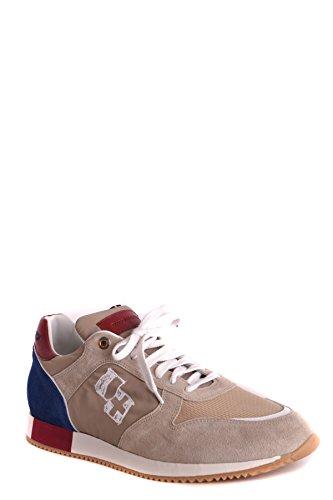 Dacquasparta Mannen Mcbi361006o Beige Suède Sneakers