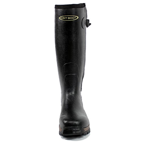 Caoutchouc Sport Noir Hunt Zip Pro Muck Botte De Noprne Boot Wellington Dirt Fx6q5Sq