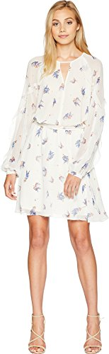 Juicy Couture Women's Drifting Wildflowers Flirty Dress Angel Drifting Wildflowers (Wildflower Dress)