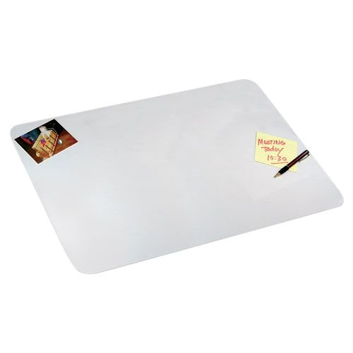Artistic 19'' x 24'' Eco-Clear Frosted Desk Pad with Exclusive Microban Antimicrobial Protection, Frosted/Opaque (70-4-0)